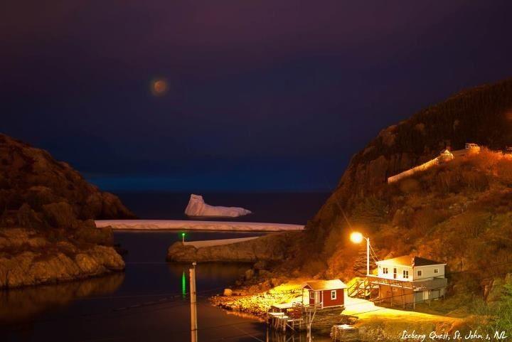 Iceberg, Quidi Vidi iceberg, Newfoundland, Canada <3