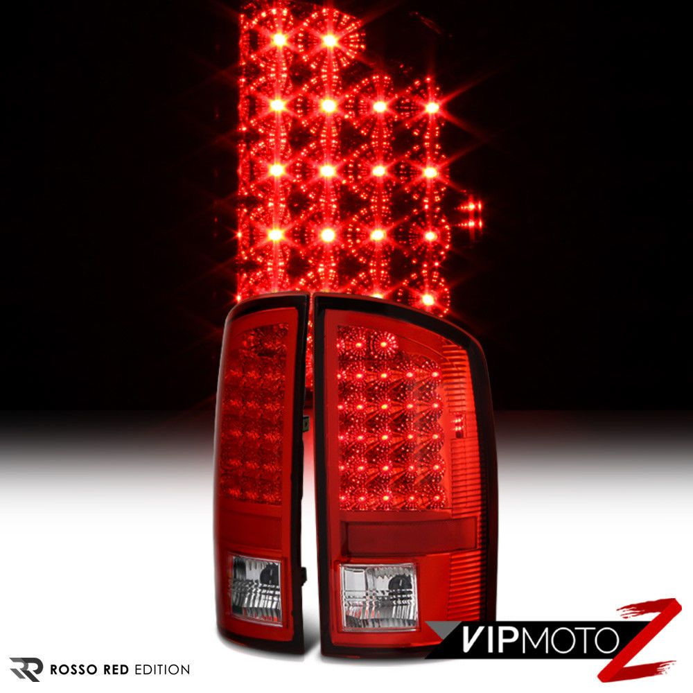 L R Factory Style 02 06 Dodge Ram Truck 1500 Led Tail Light Signal Lamp Dodge Ram Dodge Trucks Ram Tail Light