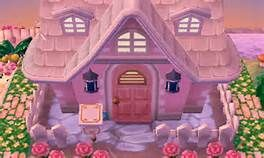 An Inspiration For The Exterior Of My House In Acnl Animal Crossing Animal Crossing 3ds Animal Crossing Pocket Camp