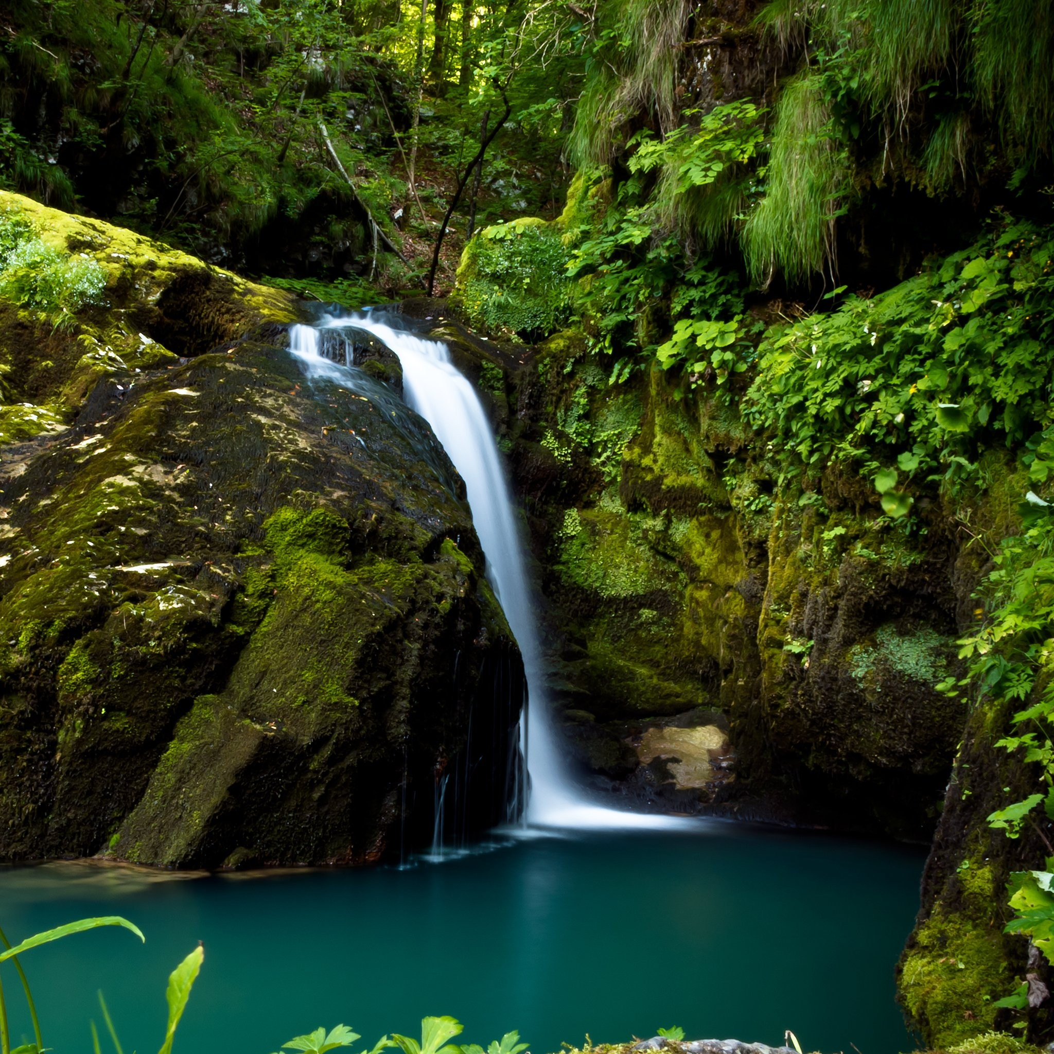Find out Natural Waterfall HD Pictures wallpaper on http