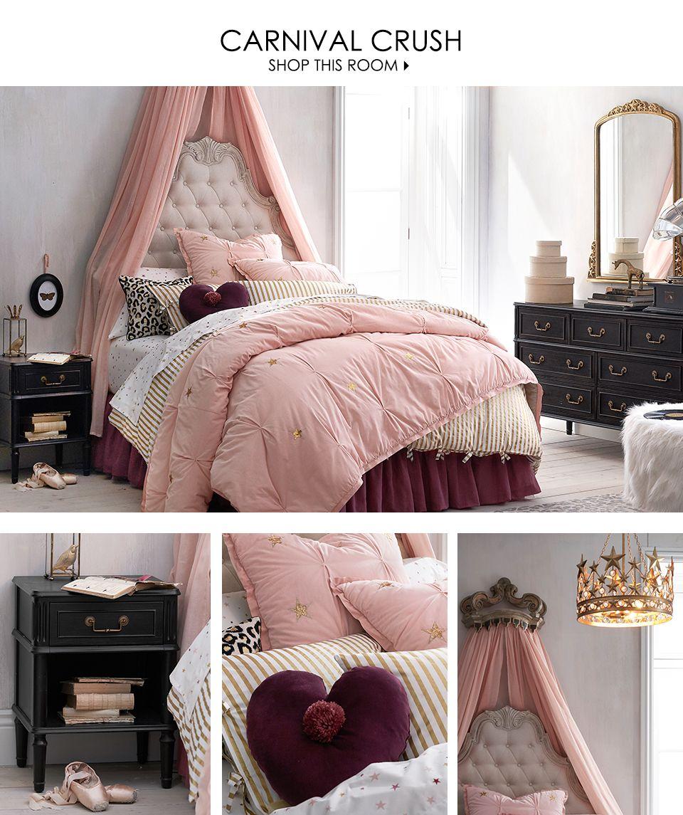 Carnival Crush Pottery Barn Kids Bedrooms Room Girls Bedroom