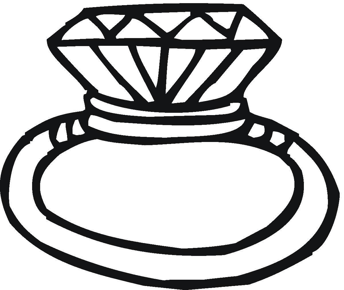 20+ Ring Clipart Black And White