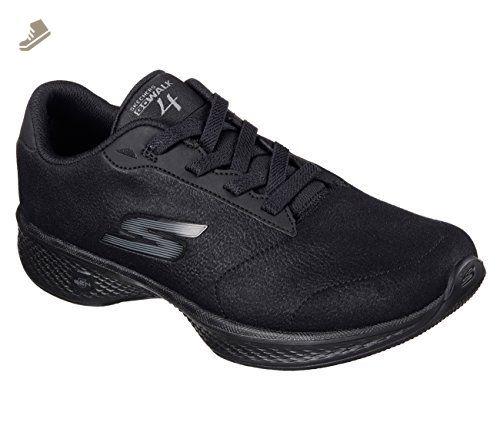 bcff1a03c7ae9 Skechers Women's GOwalk 4 Premier Walking Shoe,Black,US 6.5 W ...