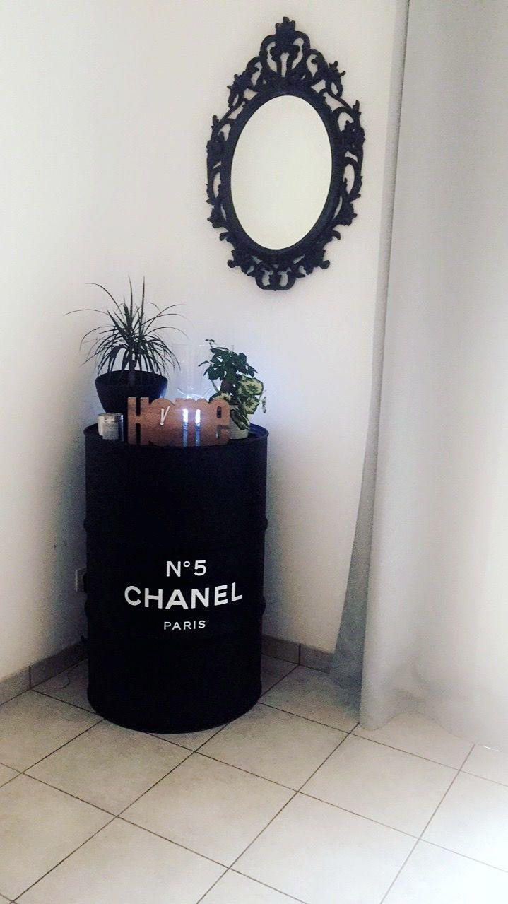 Bidon Déco Chanel Deco In 2019 Ladder Decor Home Decor Decor
