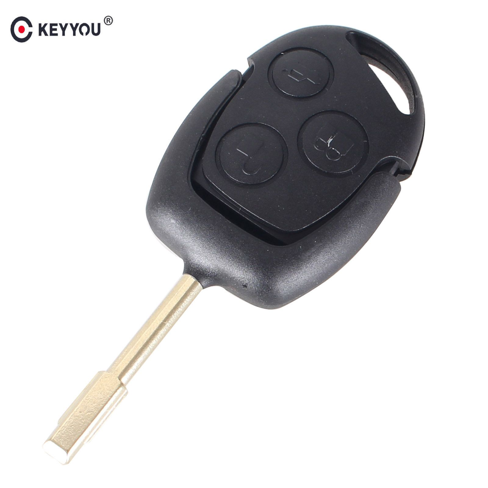 Keyyou  Mhz Remote Entry Key Fob For Ford Mondeo Fiesta