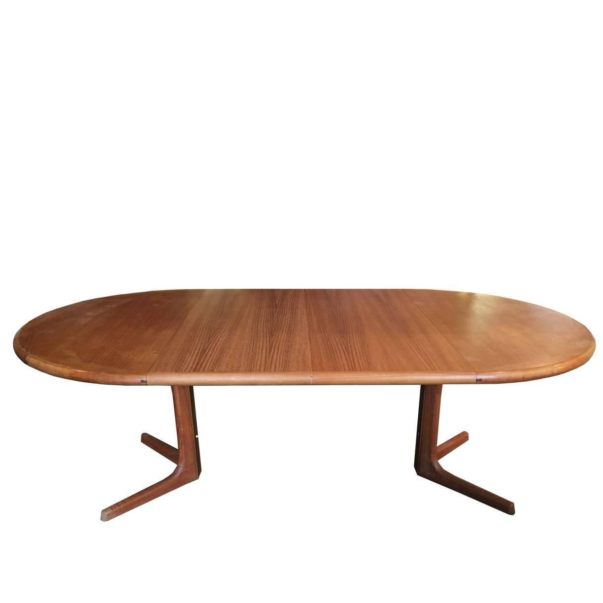 Oval Danish Teak Dining Tabledrylund  From A Unique Unique Scandinavian Teak Dining Room Furniture Decorating Inspiration