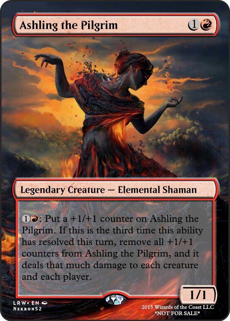 Ashling the Pilgrim If you have any suggestions for a card you would