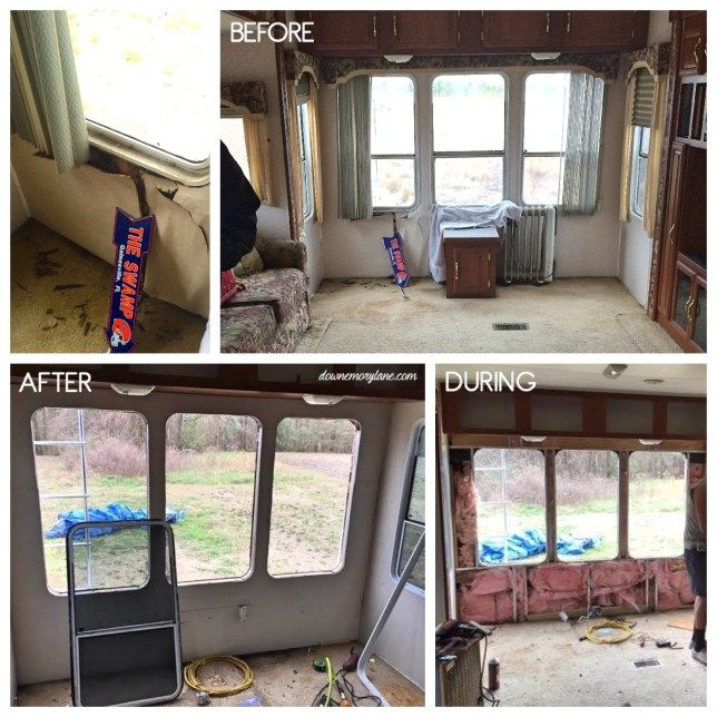 Replacing Water Damaged Camper Walls See How We Did It At