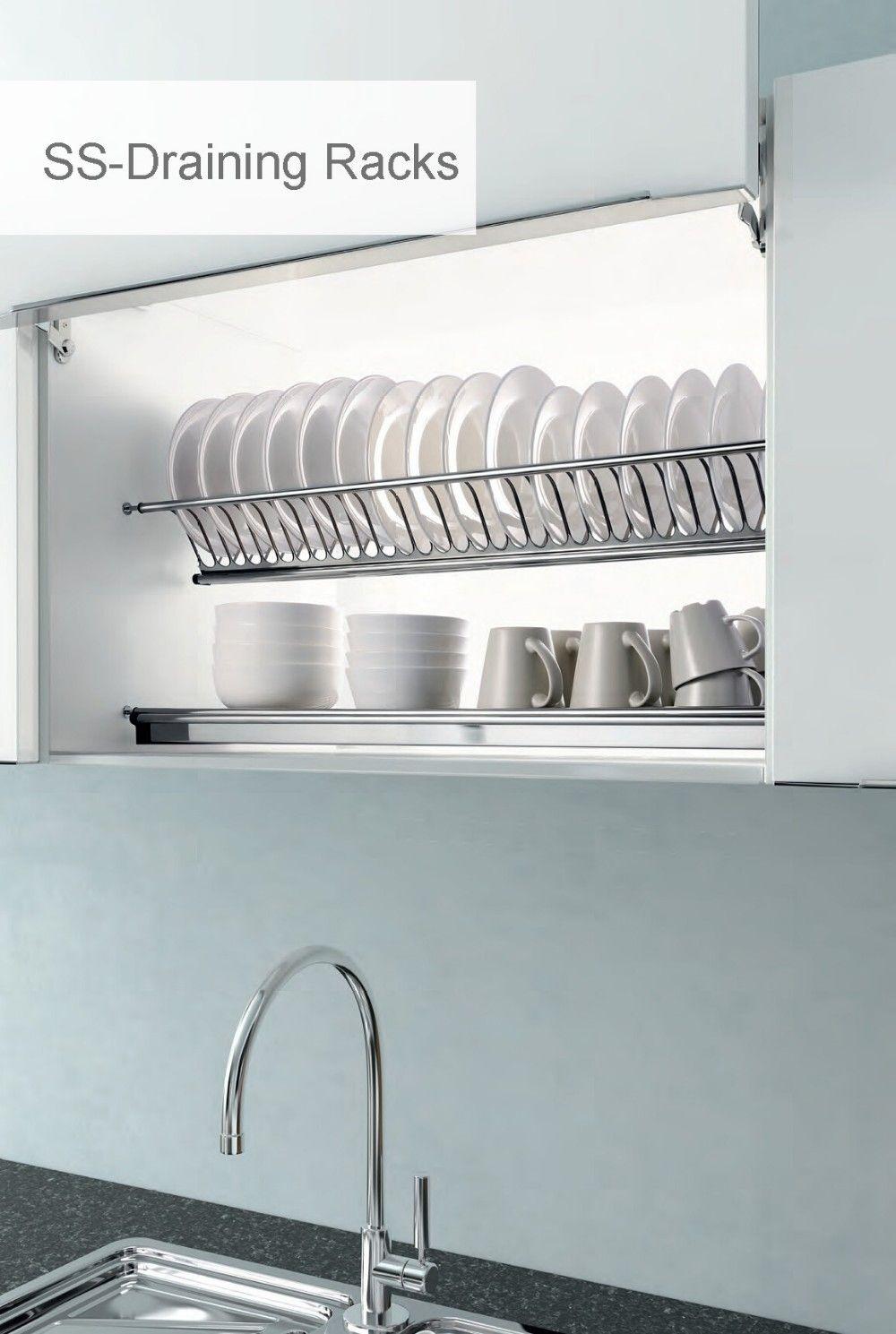 2018kitchen Sink Stainless Steel Dish Drainer Escorredor De Pratos Embutido Designs De Cozinha Espaco De Armazenamento Da Cozinha