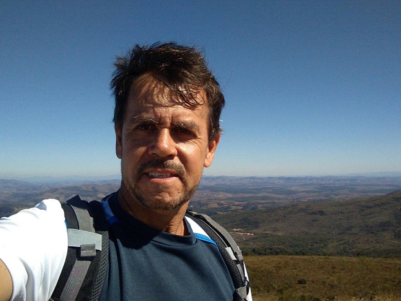 Pico do pião em parque estadual de Ibitipoca