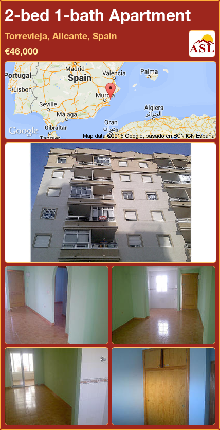 Apartment For Sale In Torrevieja Alicante Spain With 2 Bedrooms 1 Bathroom A Spanish Life Torrevieja Alicante Malaga
