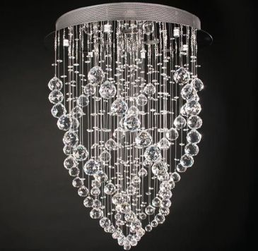 Kristall-Deckenleuchte 6-flammig 70cm (DEKL11) Home \ Living - design deckenleuchten wohnzimmer