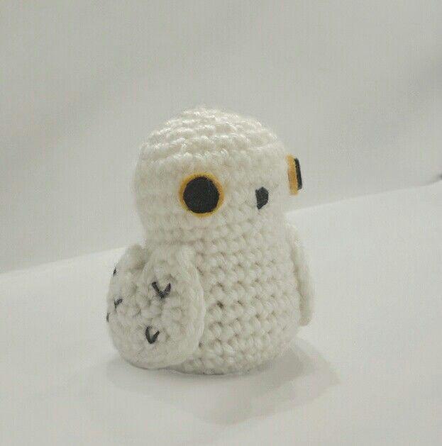 Criami - 🦉 💕 . #hedwig #harrypotter #harry #amigurumi #owl ... | 629x623