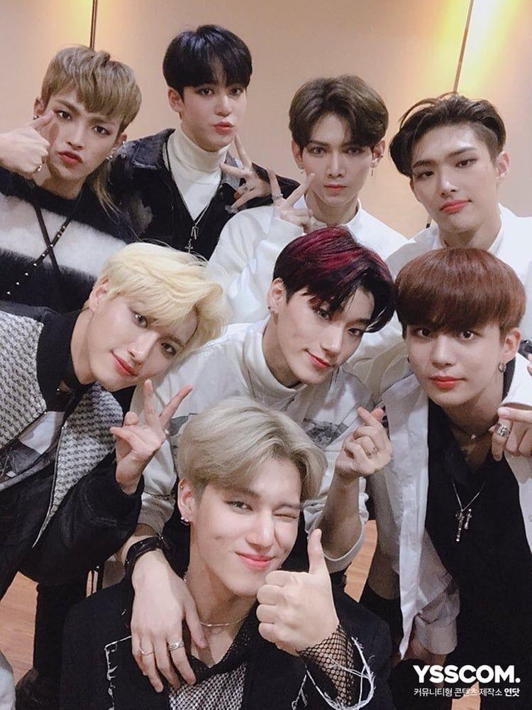 Kpop Ateez Image Boy Groups Pop Group Kpop
