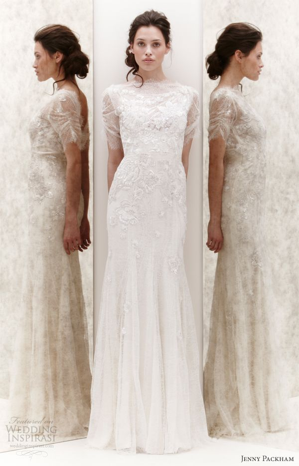 Jenny Packham Bridal Spring 2013 Wedding Dresses | Jenny packham ...