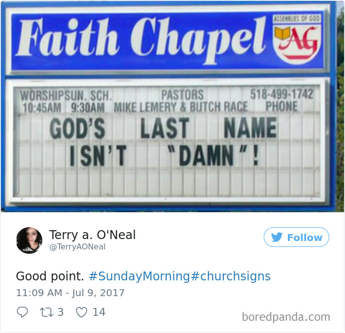 50 Genius Church Signs That Will Make You Laugh And Think