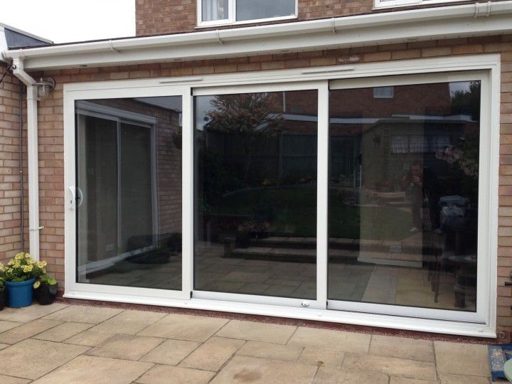 3 panel sliding patio doors - Google Search | remodeling ...