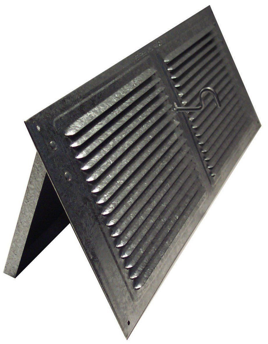 Norwesco 558026 Galvanized Soffit Vents With Damper 16 Inch By 6 Inch Read More At The Image Link Galvanized Damp Vented