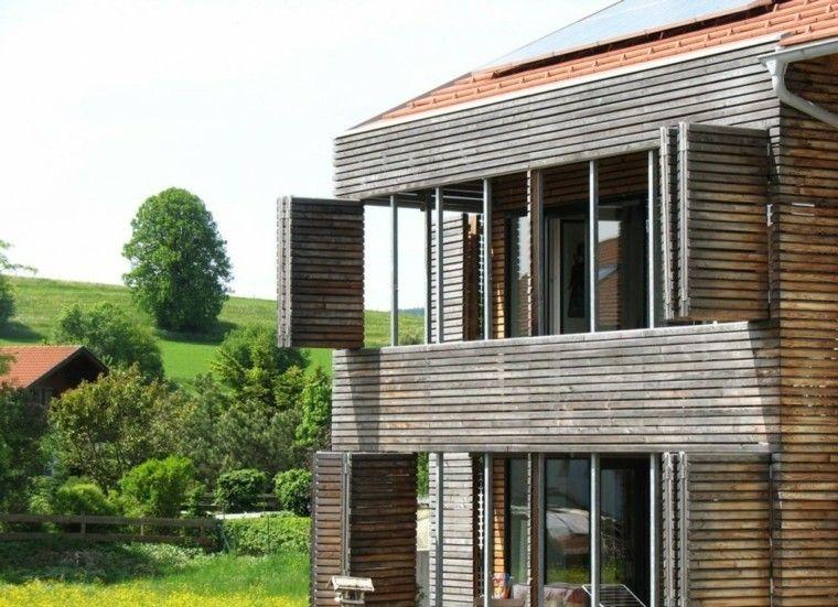 Casa moderna con fachada de madera huatulco pinterest - Casas de madera modernas ...