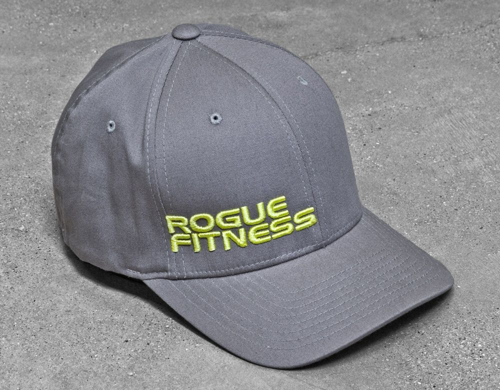 e215600f88aa98 Grey Rogue FlexFlit Hat | WOD Wear | Rogue fitness, Workout gear ...
