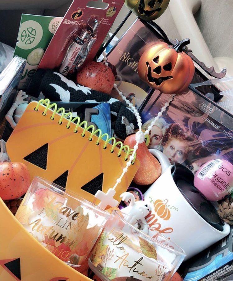 Spooky basket