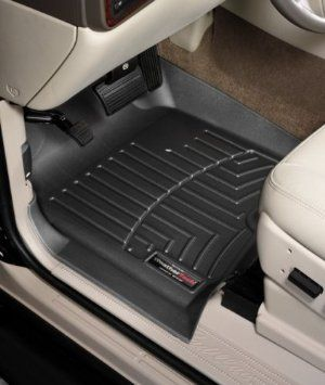 Weathertech Custom Fit Front Floorliner For Select Chevrolet Gmc Models Black Weather Tech Hyundai Veloster Volkswagen Cc