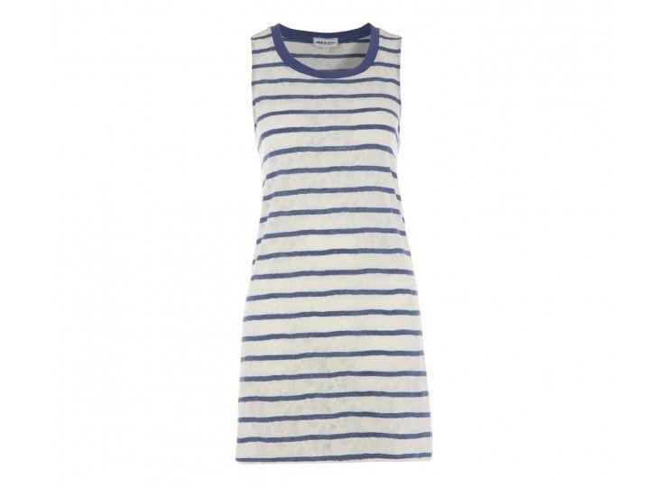 -50% Une petite #robe #mariniere #AmericanRetro avec effet #dentelle tout simplement craquante. 73€
