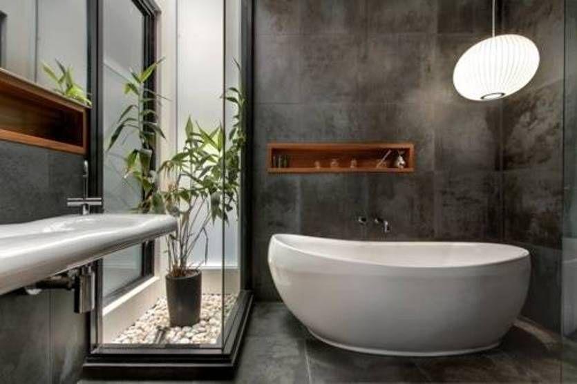 Optimal Usage Of Space And Items For Small Bathroom Ideas: Bathroom , Calming Zen Bathroom Design : Zen Bathroom
