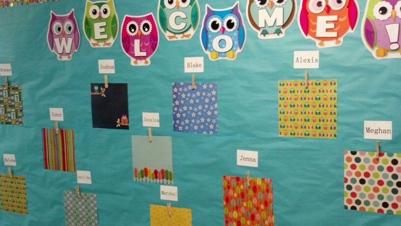 Laminate 12x12 scrapbook paper + a clothes pin= customized display board for students work
