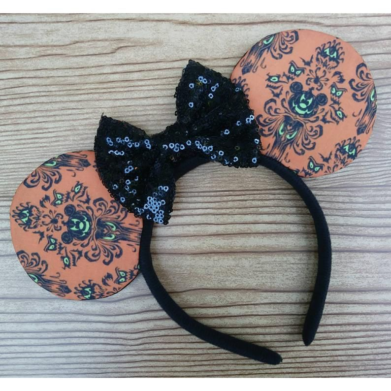 Haunted Mansion Disney Ears Headband for Adults and Kids