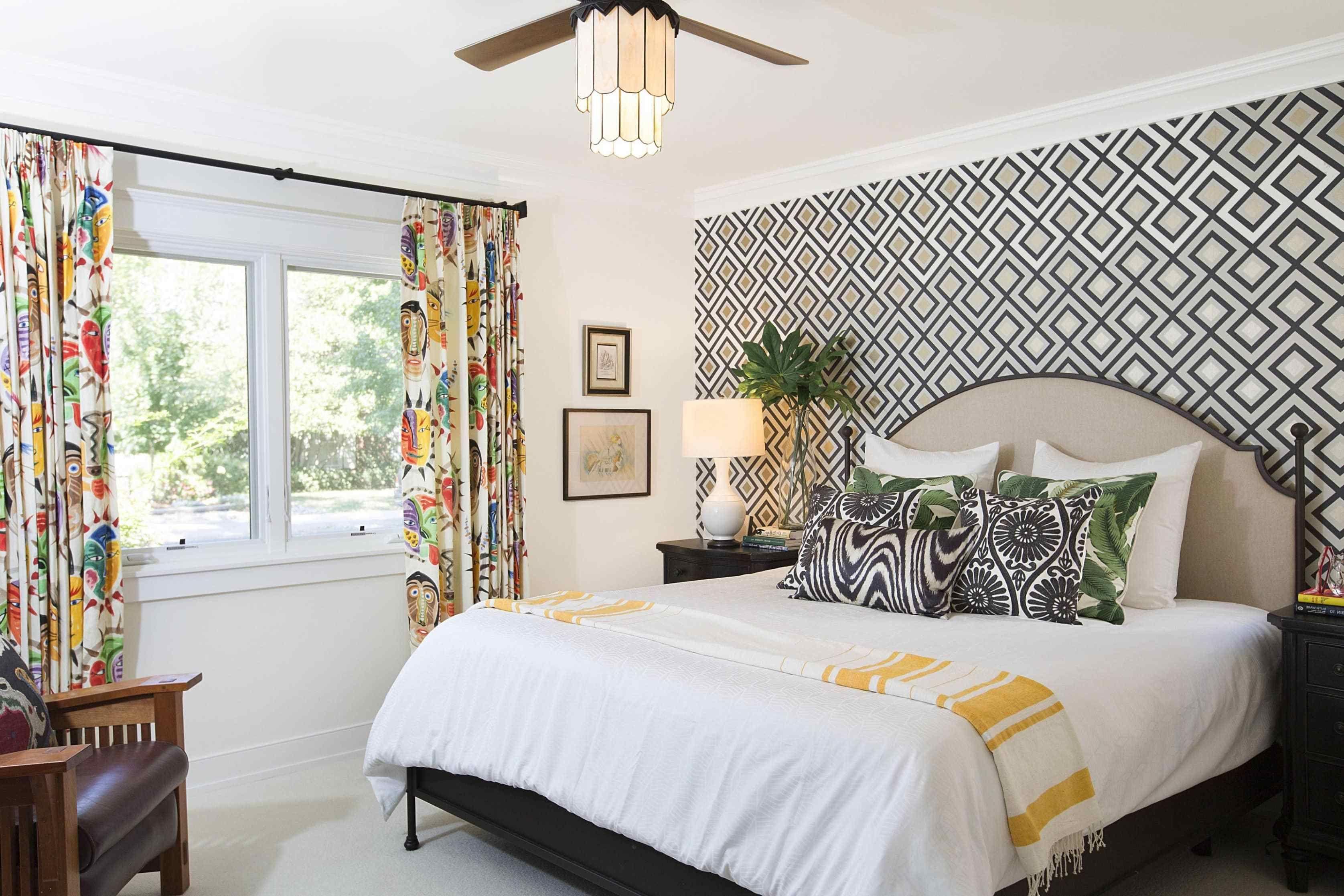 82 Accent Walls Ideas Bedroom Master Bedroom Wallpaper Accent Wall Bedroom Wallpaper Accent Wall Grey Dining Room