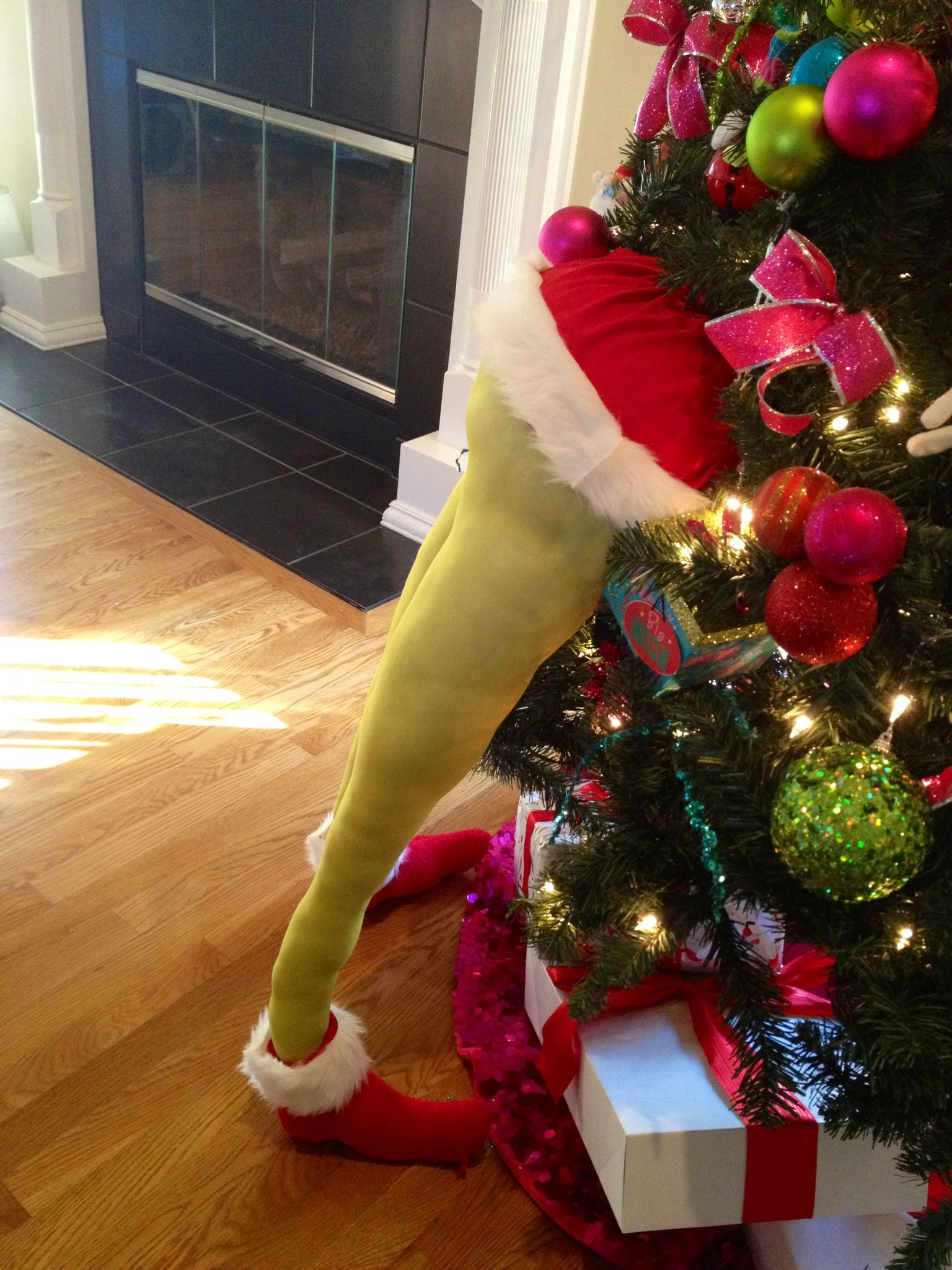 Grinch In My Tree My Creations Pinterest Grinch