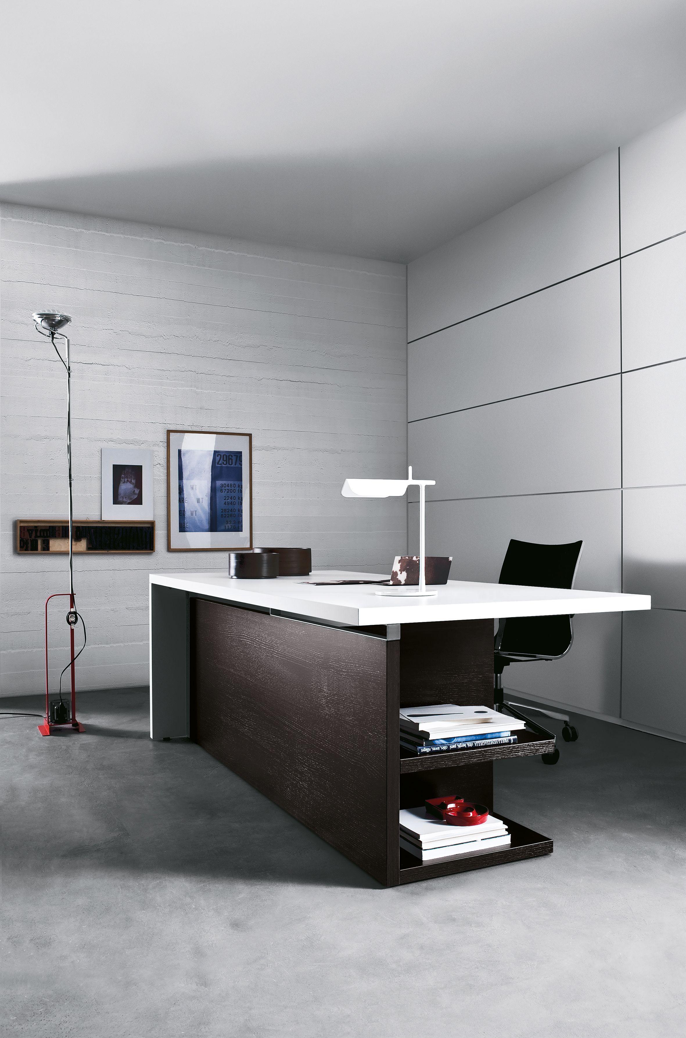 Berlin Büromöbel Schreibtisch mit Aktenregal Ausführung Dekor Eiche ...
