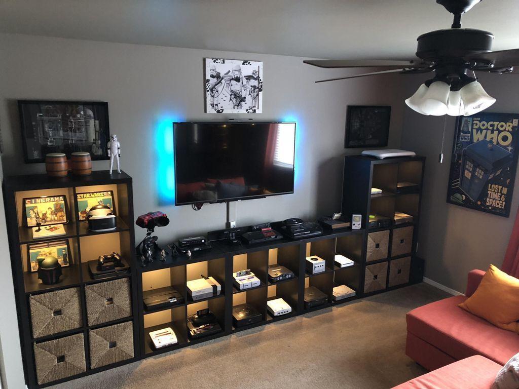 34 Latest Gamer Room Decoration Ideas #gamerroom