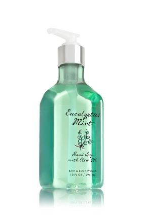 Eucalyptus Mint Hand Soap With Olive Oil Bath Body Works