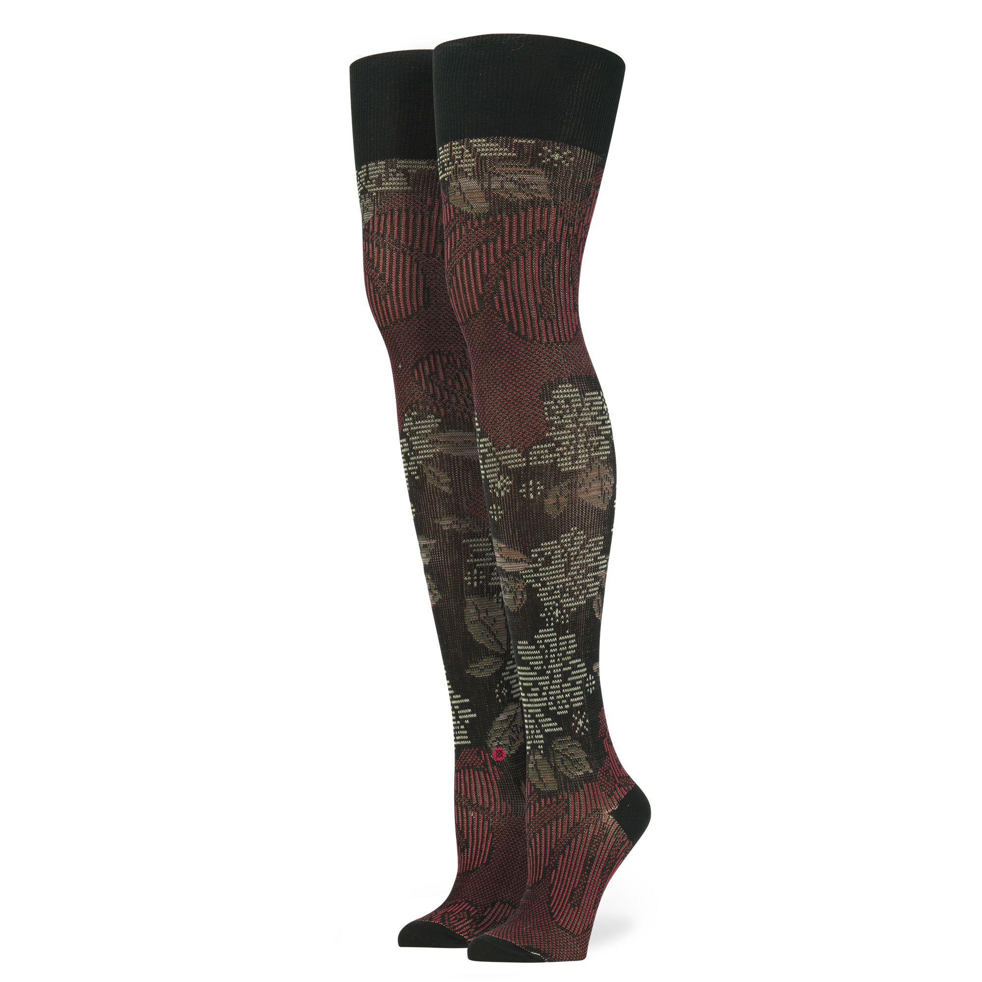 Lotus Thigh High Stance Us Thigh High Tights Thigh High Socks Thigh High Stockings