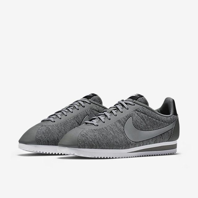 new concept 74197 220b0 ... discount nike classic cortez fleece womens shoe. c924f b24d7