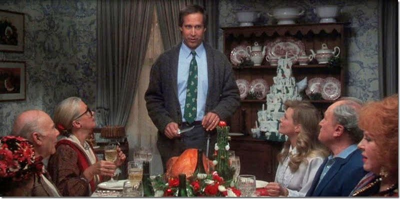 If the Griswolds had Christmas Dinner… Christmas