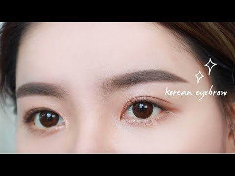 MY EYEBROW ROUTINE - Korean Eyebrow Tutorial (Indo Subs) | Erna Limdaugh