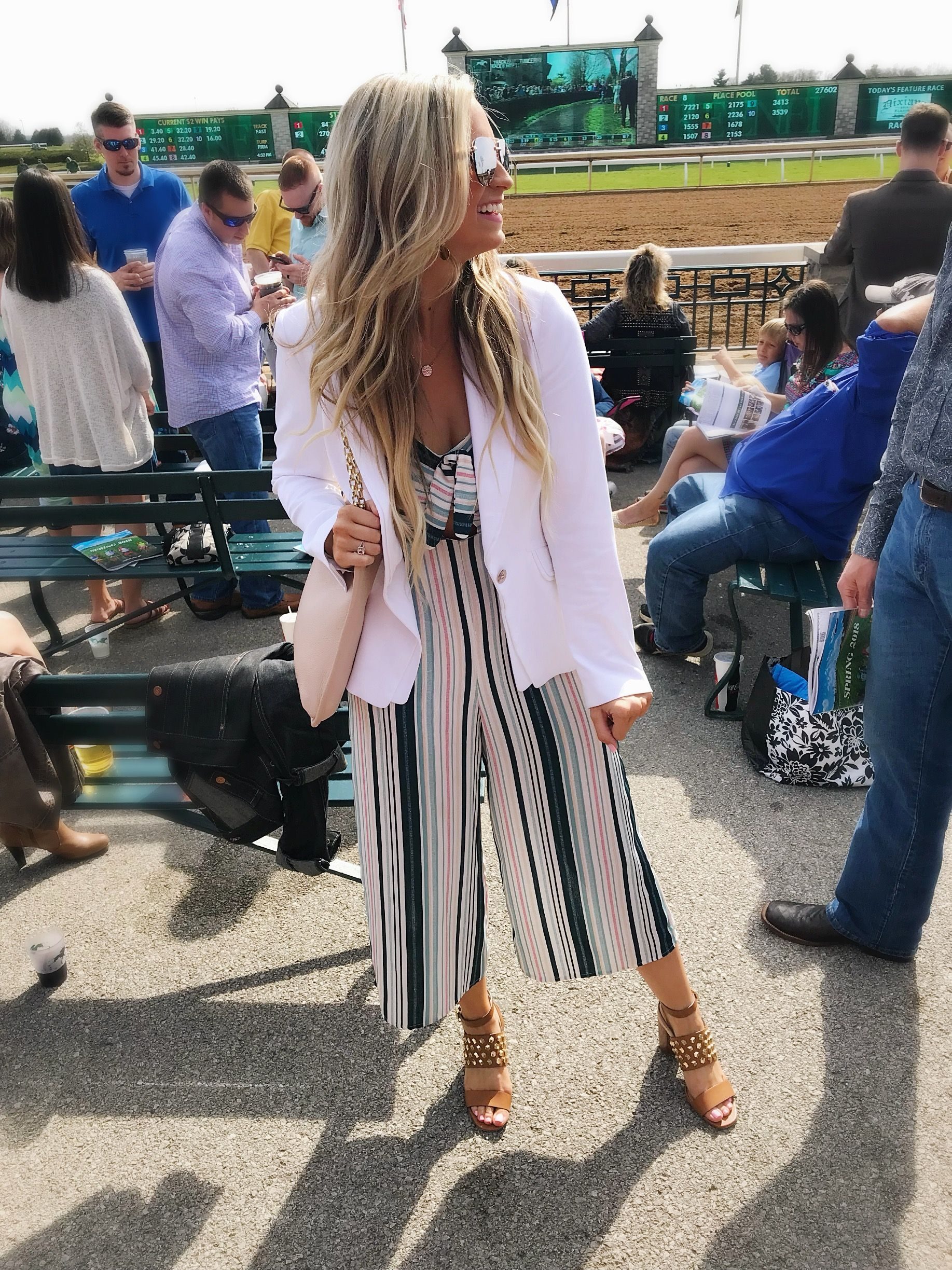 What to wear to Keeneland and the Kentucky Derby. Love this $23