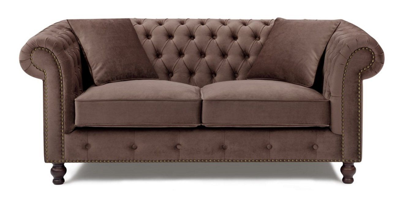 Online shopping discount Microfiber Chesterfield Loveseat ...