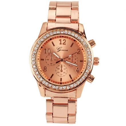 9f27357f34cf Reloj para Dama Analógico GE-Dorado