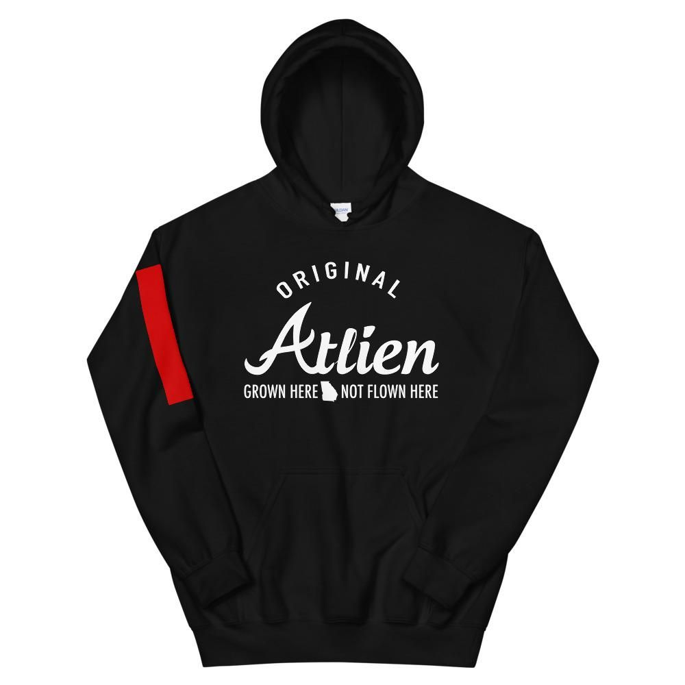 Original Atlien Black Hoodie – 2XL