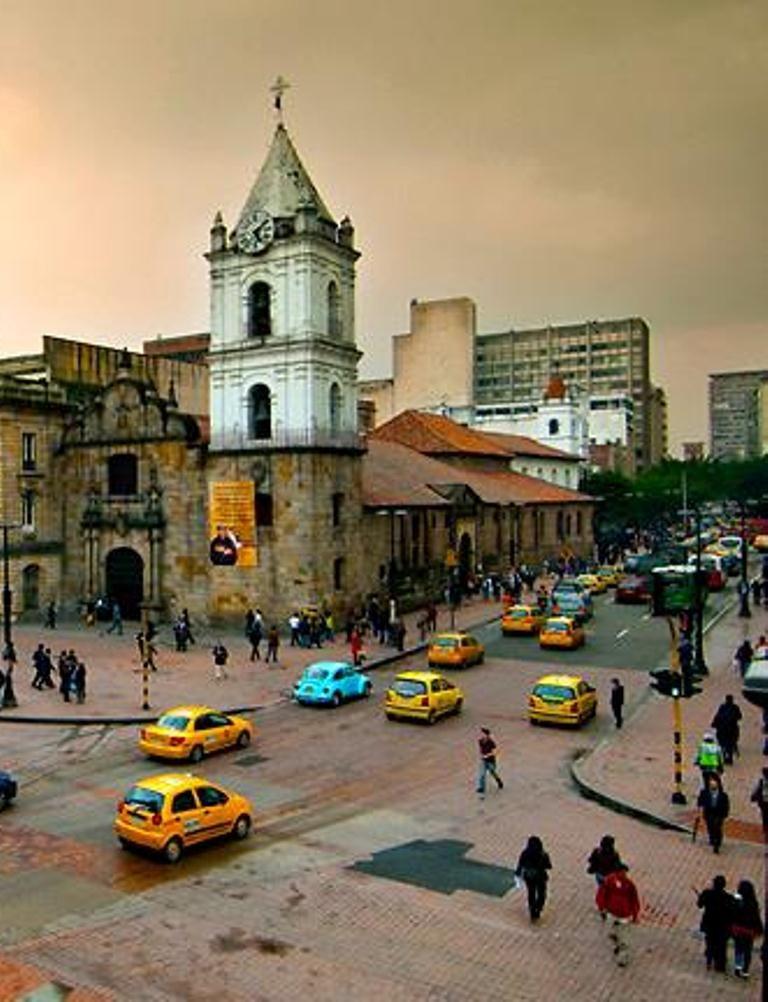 Avenida Jiménez Con Séptima Bogotá Destination Voyage Street View Voyage