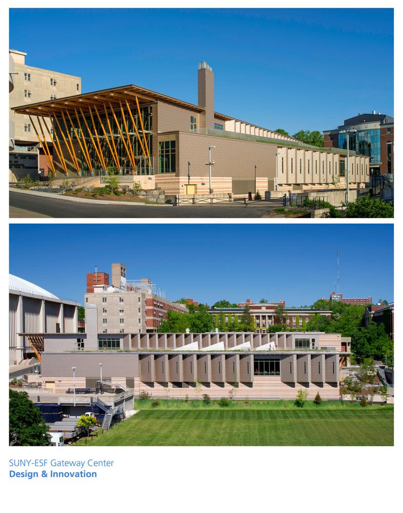 Gateway Center Suny Esf College Of Environmental Science Forestry Aia Top Ten Environmental Science Forestry Environment