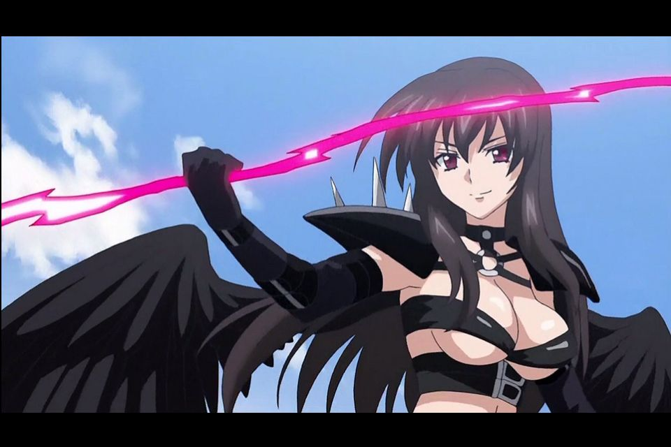 Raynare and her light spear | Highschool DxD | Pinterest