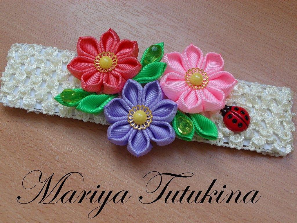 Photo album Мария Тутукина - Канзаши для Вас by user Мои Канзаши on Odnoklassniki