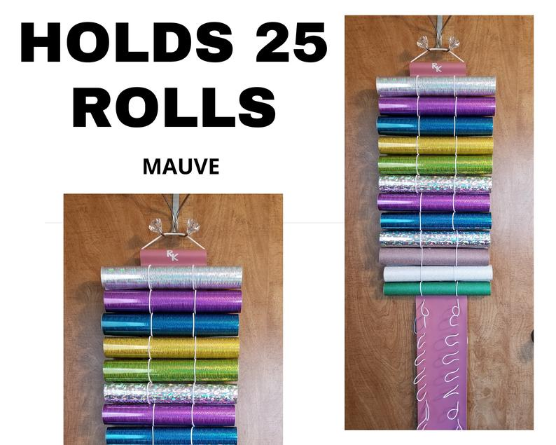 Vinyl Roll Storage Mauve Holds 24 Rolls Also Great For Diamond Painting Stabilizer And More By The Roll Keeper Diamond In 2020 Vinyl Rolls Vinyl Crafts Vinyl Storage
