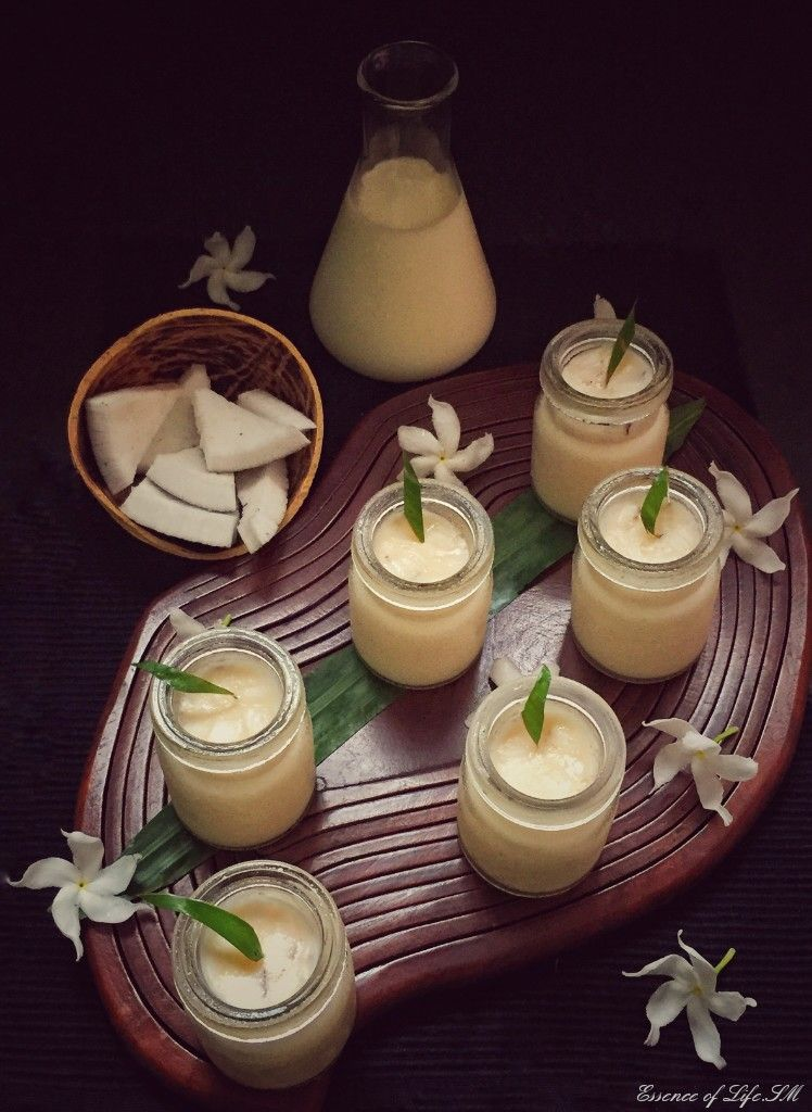COCONUT PUDDING TEMBLEQUE This Coconut Pudding is truly