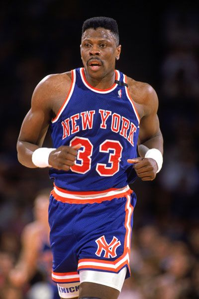 10 Patrick Ewing 24 1 Ppg 11 0 Rpg 2 7 Blkpg 50 3 Fg Eight Time Nba All Star 1990 All Nba First T Sports Basketball Knicks Basketball Basketball Players